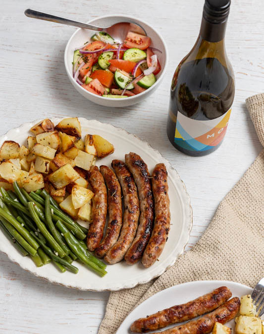 Italian Pork Sausages by Lakes Fresh