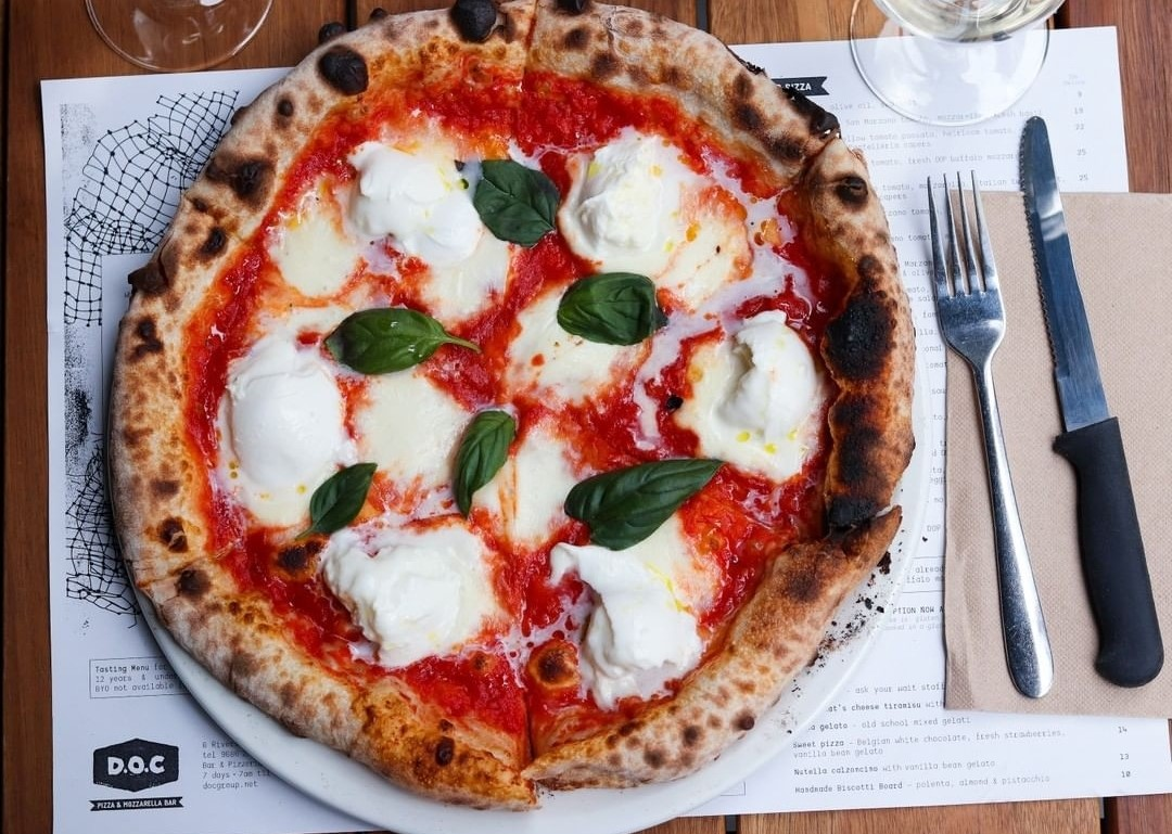 Margherita pizza by DOC